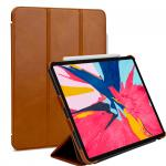 Etui skórzane do na Apple iPad Pro 11 - Couverture, brąz - B07KBSD7HL