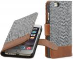 "Etui do na Apple iPhone 6 Plus / 6S Plus 5.5"" - Fashion 04 Talis, brązowy - B00NIVBKSE"