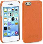 Etui do na Apple iPhone 5 / 5S / SE - Cover, mandarin karbowana- X0006W12RF