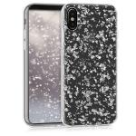 Etui do na Apple iPhone X Crystal TPU płatki śniegu - 4057665272064