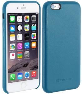 Etui  Apple iPhone 6s Plus - Cover Premium, aquablue nappa - B01EYO03L8