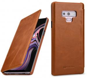 Etui do na Samsung Galaxy Note 9 - Book, brąz - B07GJBVSRD