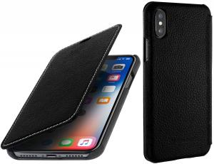 Etui do na Apple iPhone X / Xs - Book, czarny - B075JJHSMW