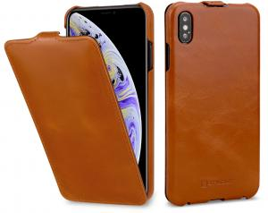 Etui do na Apple iPhone Xs Max - UltraSlim, brąz - B07HF7K62H