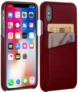 Etui do na Apple iPhone X / Xs - Cover, bordowy - B077QPXTLF