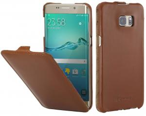 Etui  Samsung Galaxy S6 Edge Plus - UltraSlim, brown - B01411H4IY