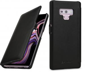 Etui do na Samsung Galaxy Note 9 - UltraSlim Book, czarny nappa - B07GJF7MBR