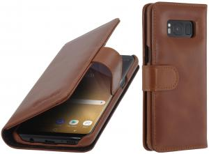 Etui Samsung Galaxy S8 Plus - Talis, brown - B06XWT7LMR