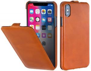 Etui do na Apple iPhone X / Xs - UltraSlim, brązowy - B075JJH8DL