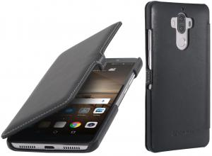Etui do na Huawei Mate 9 - UltraSlim Book, czarny nappa - B01NB1SMT6