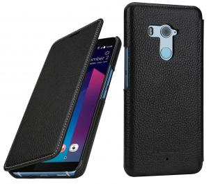 Etui do na HTC U11+ - Book, czarny - B07BF9J5T3