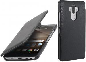 Etui  Huawei Mate 9 - UltraSlim Book, black - X000M6MHRJ