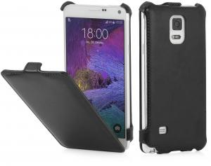 Etui do na Samsung Galaxy NOTE 4 - SlimCase, czarny - B00OXTC25A