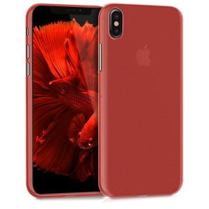 Etui do na plastic TPU Apple iPhone X cover czerwony - 4057665271326
