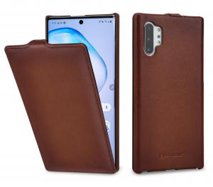 Etui do na Samsung Note 10+ - UltraSlim, brąz Antik - B07WFV3SXY