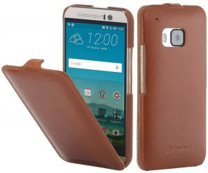 Etui  HTC One M8 - UltraSlim, brown - B00J7MJ7F6
