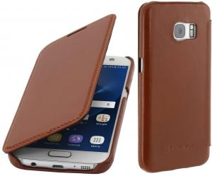 Etui  Samsung Galaxy S7 - Book, brown - B01CNVF968