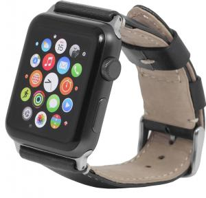 Pasek  Apple Watch 42 mm, black - B0183W1LC2