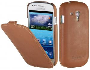 Etui  Samsung Galaxy S3 mini - UltraSlim OS, camel brown - X00076IA2F