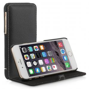 "Etui do na Apple iPhone 6 4.7"" - Book V2, czarny - B00OTAWSIE"
