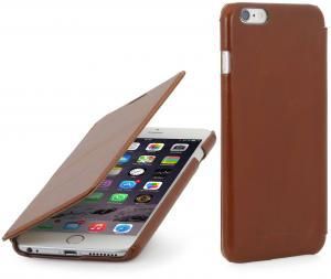 "Etui  Apple iPhone 6 Plus / 6S Plus 5.5"" - Book, brown - B0156JG1EI"