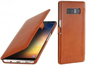 Etui do na Samsung Galaxy Note 8 - UltraSlim Book, brązowy - B075JGK257