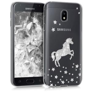 Etui do na Samsung Galaxy J3 - Crystal TPU pegaz - 4057665271166