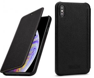 Etui do na Apple iPhone Xs Max - Book, czarny - B07HF7KSS1