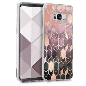 Etui do na Samsung Galaxy S8 - Crystal TPU mozaika - 4057665353367