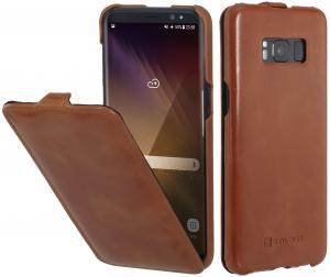 Etui Samsung Galaxy S8 Plus - UltraSlim, brown - B06XWG768C