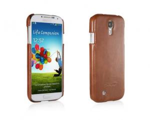 Etui  Samsung Galaxy S4 i9500 - Cover, brown - X0006ZUMWN