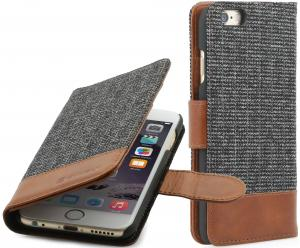 "Etui  Apple iPhone 6 Plus / 6S Plus 5.5"" - Fashion 01 Talis, brown - B00NIVBHKA"