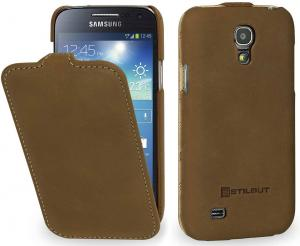 Etui  Samsung Galaxy S4 mini - UltraSlim OS, camel brown - X0006L542Z