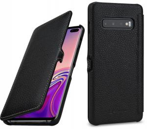 Etui do na Samsung Galaxy S10+ - UltraSlim Book, czarny - B07PJ34GK2
