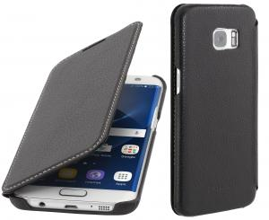 Etui do na Samsung Galaxy S7 Edge - Book, czarny - B01CNYO7WC