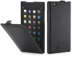 Etui do na Blackberry LEAP - UltraSlim, czarny - B00XOY0KHM