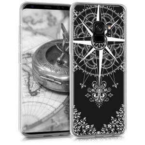 Etui do na Samsung Galaxy S9 - Crystal TPU kompas - 4057665336087