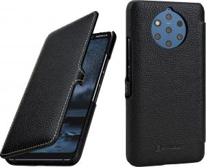 Etui do na Nokia 9 Pureview - UltraSlim Book, czarny - B07QB247MM