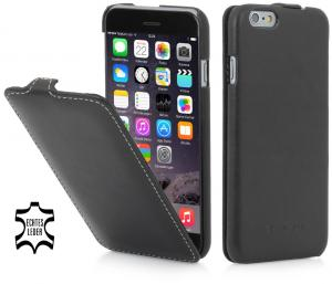 "Etui  Apple iPhone 6 4.7"" - UltraSlim, black nappa - B00N0MTAF6"
