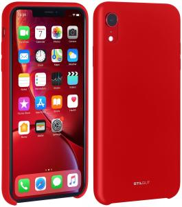 Etui do na Apple iPhone Xr - Silicon czarny - B07GYV5JNM