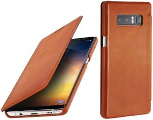 Etui do na Samsung Galaxy Note 8 - Book, brązowy - B075JHDLMV