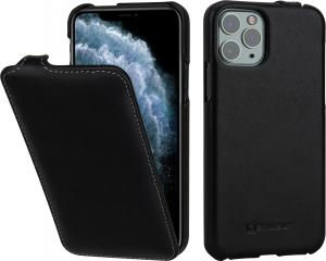 Etui do na Apple iPhone 11 Pro - UltraSlim, czarny nappa - 4251706200898