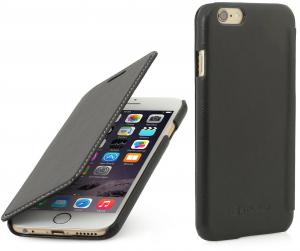 "Etui  Apple iPhone 6 Plus / 6S Plus 5.5"" - Book, black nappa - B0156JG4HC"