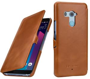Etui do na HTC U11+ - UltraSlim Book, czarny - B07BF9RJY8