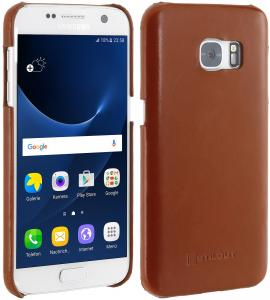 Etui  Samsung S7 - Cover, brown - B01H7B3Q8M