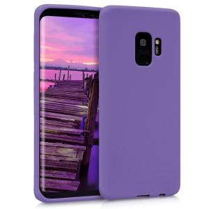 Etui do na Samsung Galaxy S9 - TPU filoetowy matt - 4057665346468