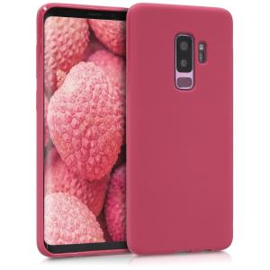 Etui do na Samsung Galaxy S9 Plus - TPU różowy matt - 4057665346253