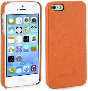 Etui  Apple iPhone 5 / 5S / SE - Cover, mandarin carbo - X0006W12RF