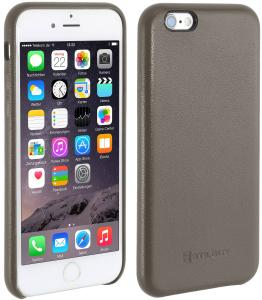 Etui  Apple iPhone 6s Plus - Cover Premium, grey nappa - B01EYO01HE