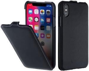 Etui do na Apple iPhone X / Xs - UltraSlim, czarny nappa - B075JGFXGZ